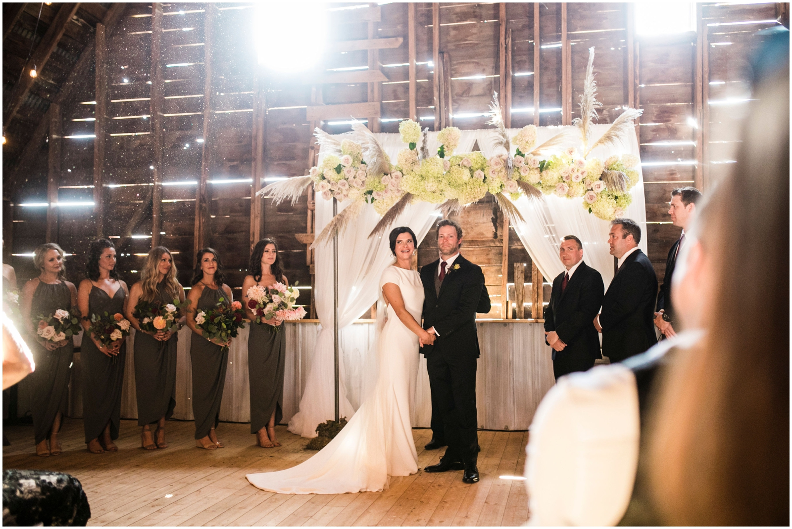 bride and groom in Wisconsin