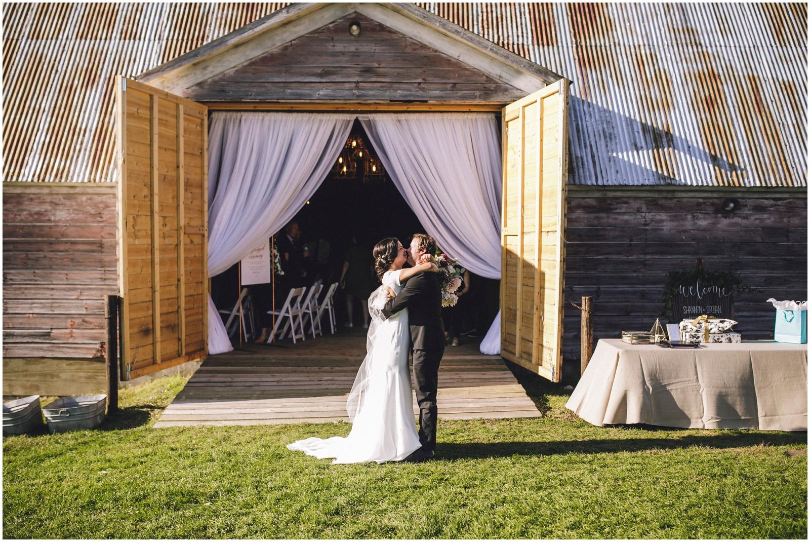 Wedding ceremony in Wisconsin