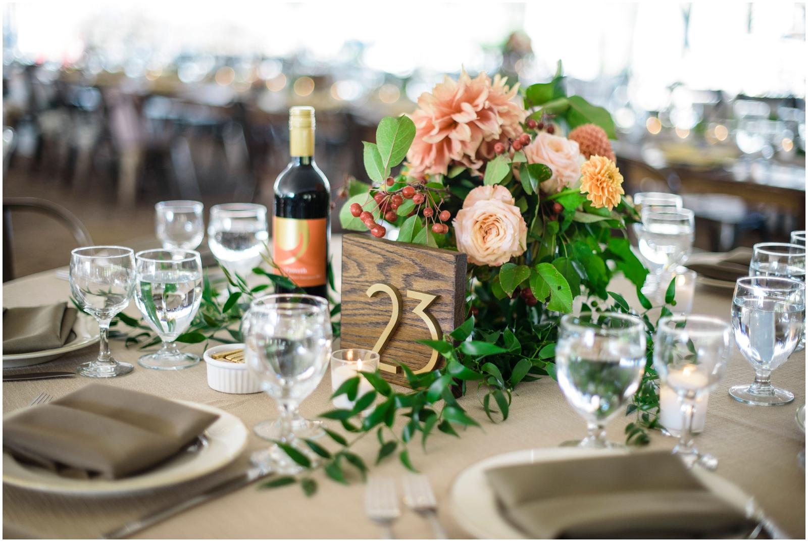 wedding table sign decor