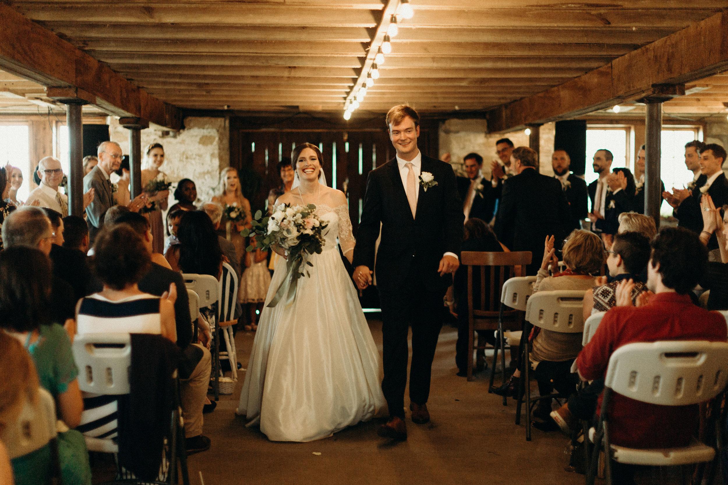 Barn Wisconsin Wedding