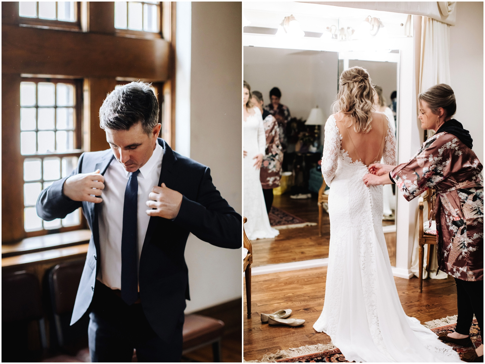 Minnesota Wedding Planner, Mpls Wedding Planner, Machine Shop MPLS, Mpls Wedding Venue . Bride and Groom getting ready for their Minnesota wedding