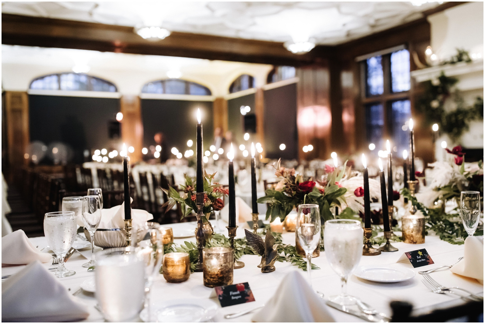 Minnesota Wedding Planner, Mpls Wedding Planner, Machine Shop MPLS, Mpls Wedding Venue . Wedding Reception Candlelights