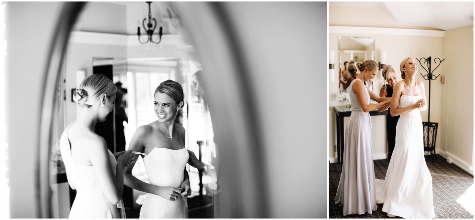 Minnesota Wedding Planner. Lafayette Club Wedding. Bride getting ready for her wedding