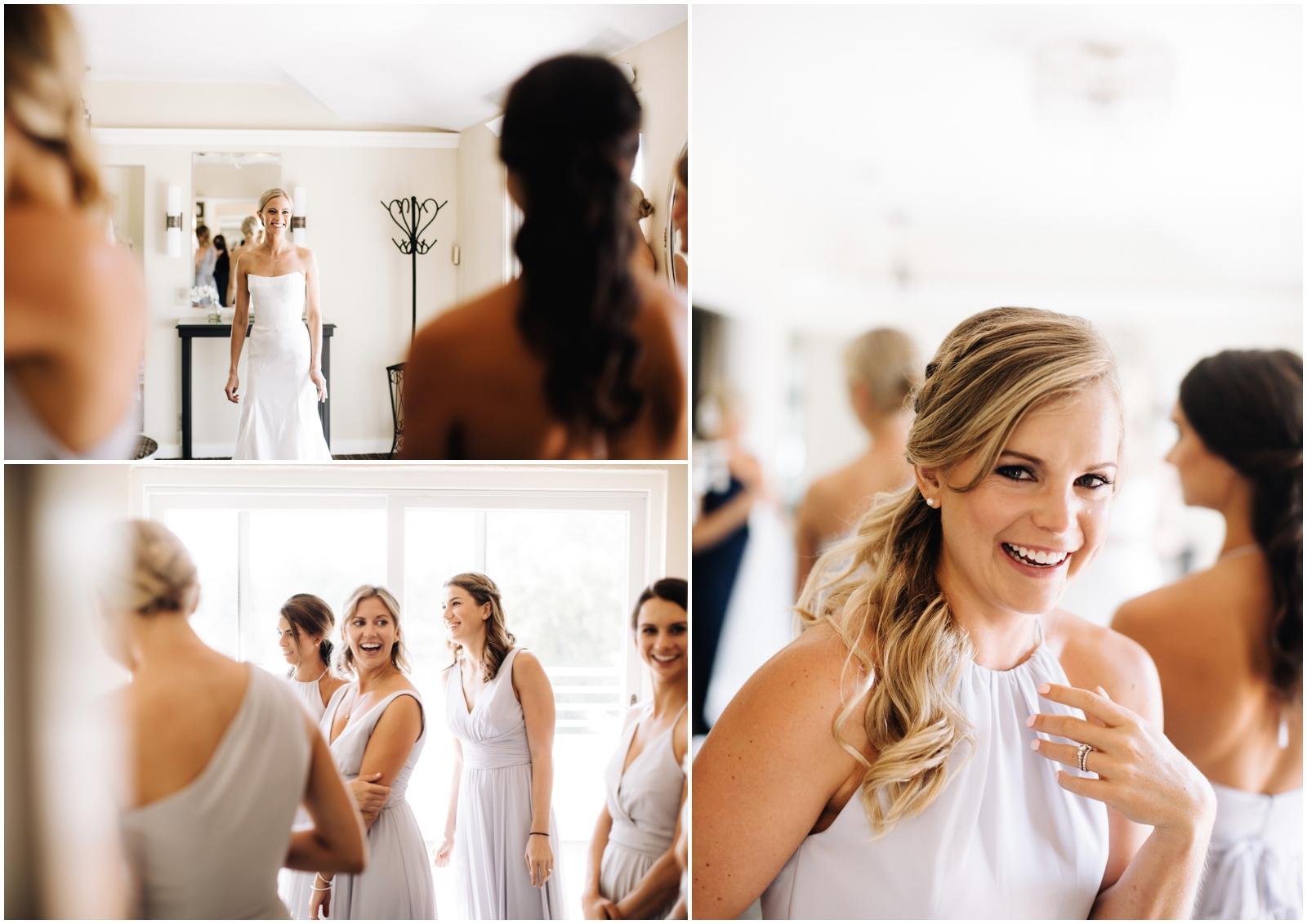 Minnesota Wedding Planner. Lafayette Club Wedding. Bride and the bridesmaids getting ready