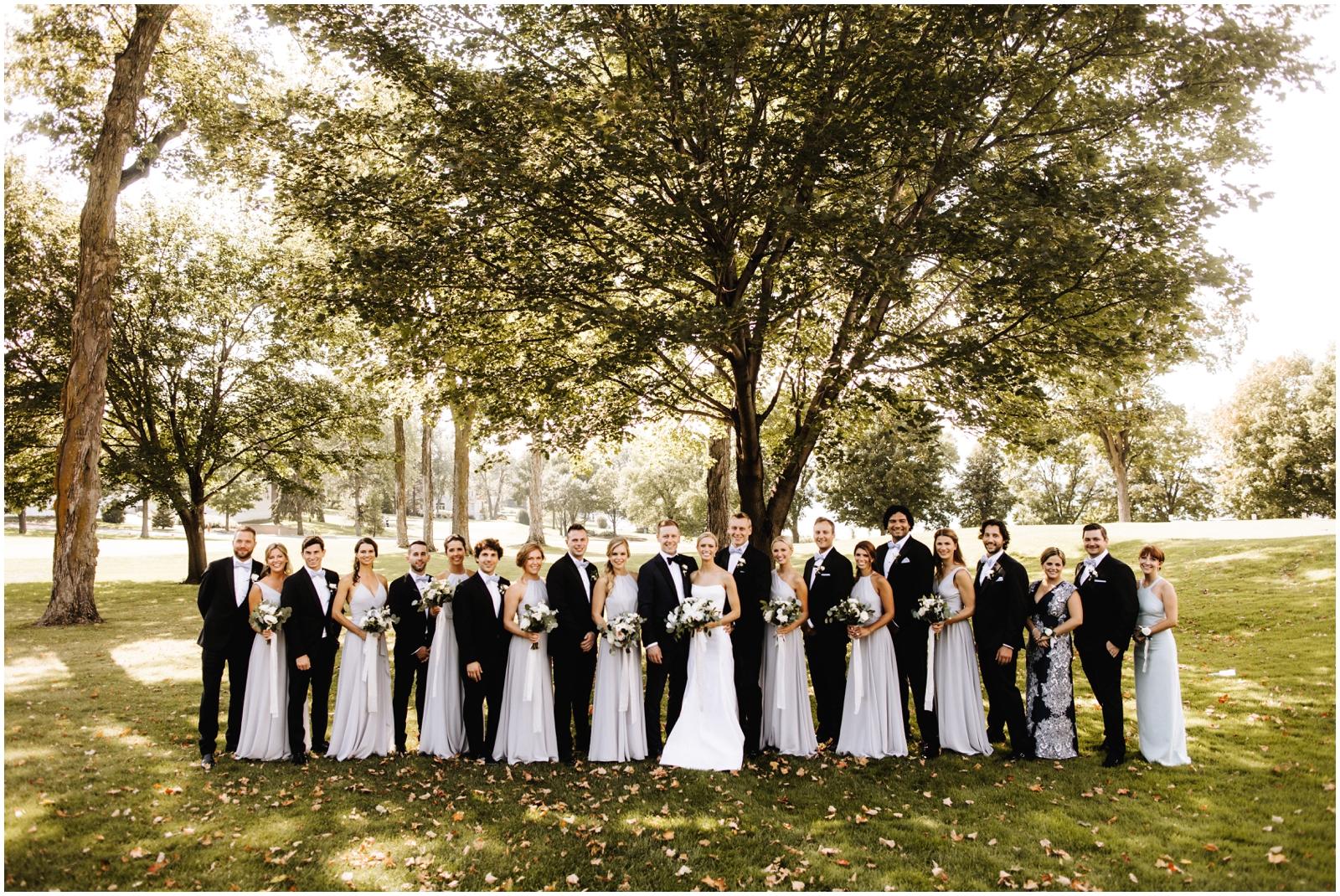Minnesota Wedding Planner. Lafayette Club Wedding. Bridal party in Minnesota