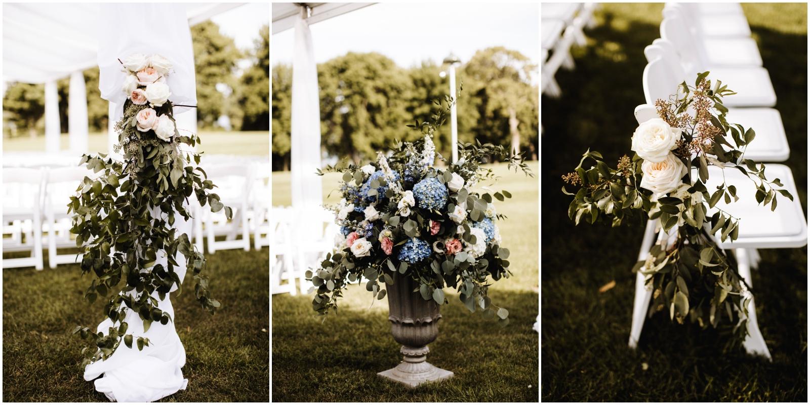 Minnesota Wedding Planner. Lafayette Club Wedding. Outdoor wedding ceremony decor