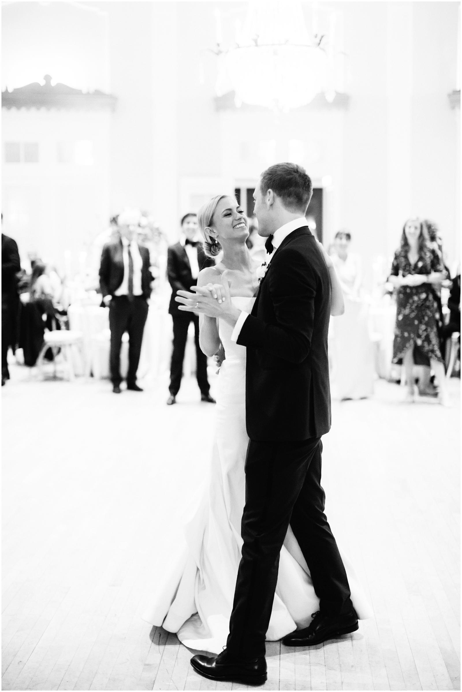 Minnesota Wedding Planner. Lafayette Club Wedding. Wedding Reception Inspiration. Wedding Decor. Greenery Wedding. Bride and groom's first dance