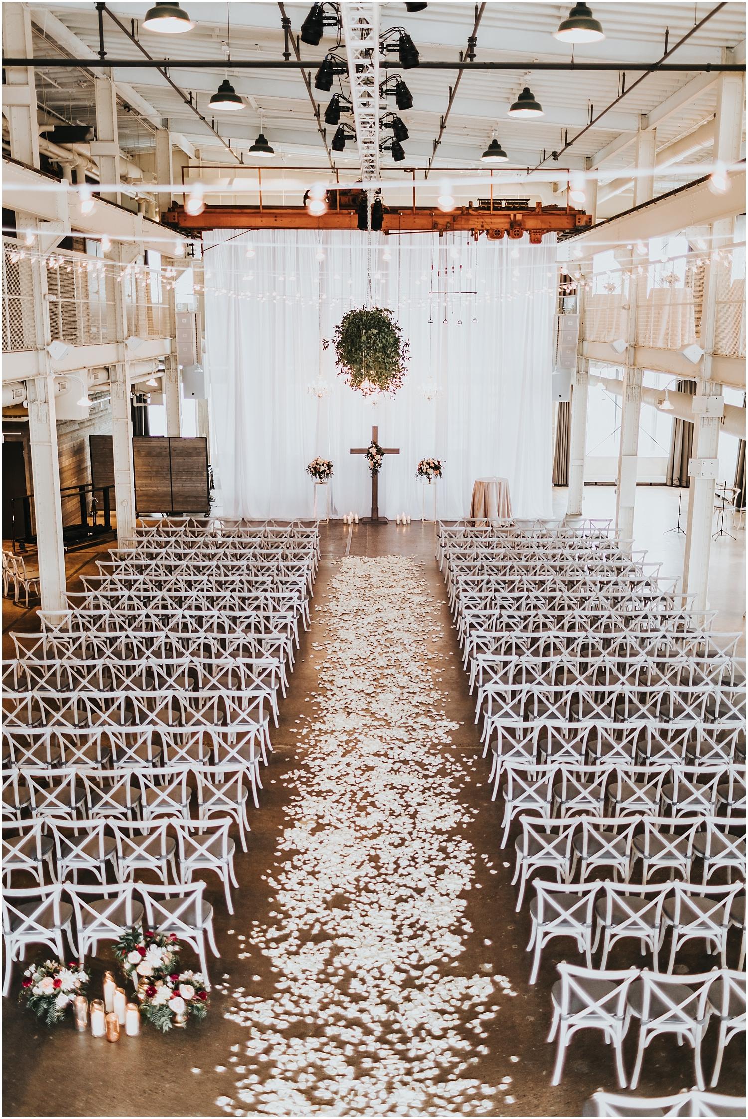 The Machine Shop Wedding Ceremony
