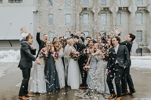 That Friday feeling! Seriously though, Katie + Johnny's big day was #weddinggoals!  it was heartfelt, joyous and oh so emotional for everyone. If you're into #allthefeels- you're going to want to check out our latest blog post!⠀⠀⠀⠀⠀⠀⠀⠀⠀ ⠀⠀⠀⠀⠀⠀⠀⠀⠀ Venue: @machineshopmpls⠀⠀⠀⠀⠀⠀⠀⠀⠀ Bride's Hair: @carlyhavilandstyles⠀⠀⠀⠀⠀⠀⠀⠀⠀ Bridesmaids Hair: Pure Beauty⠀⠀⠀⠀⠀⠀⠀⠀⠀ Makeup Artist: @ladyvampartistry⠀⠀⠀⠀⠀⠀⠀⠀⠀ Catering: @damicocatering⠀⠀⠀⠀⠀⠀⠀⠀⠀ Reception Entertainment: @rockwithu⠀⠀⠀⠀⠀⠀⠀⠀⠀ Florals: @sadiesfloral⠀⠀⠀⠀⠀⠀⠀⠀⠀ Photo: @russellheeterweddings ⠀⠀⠀⠀⠀⠀⠀⠀⠀ Rentals: @rudyseventrentals| @LinenEffects | @quest_events| @phosevents ⠀⠀⠀⠀⠀⠀⠀⠀⠀ Day of Paper: @MilestonePaper ⠀⠀⠀⠀⠀⠀⠀⠀⠀ Video: @storyofusfilms⠀⠀⠀⠀⠀⠀⠀⠀⠀ ⠀⠀⠀⠀⠀⠀⠀⠀⠀ #bridesmaids #firstlook #bridesmaidsfirstlook ⠀⠀⠀⠀⠀⠀⠀⠀⠀ #machineshopmpls #machineshop #machineshopmplswedding #mplswedding #minneapoliswedding #minneapolisweddings #minneapolisweddingplanner #minneapolisweddingcoordinator #minneapolis #minnesota #mn #minnesotawedding #mnweddings #mnwedding #mnweddingplanner #minnesotabride #mnbride