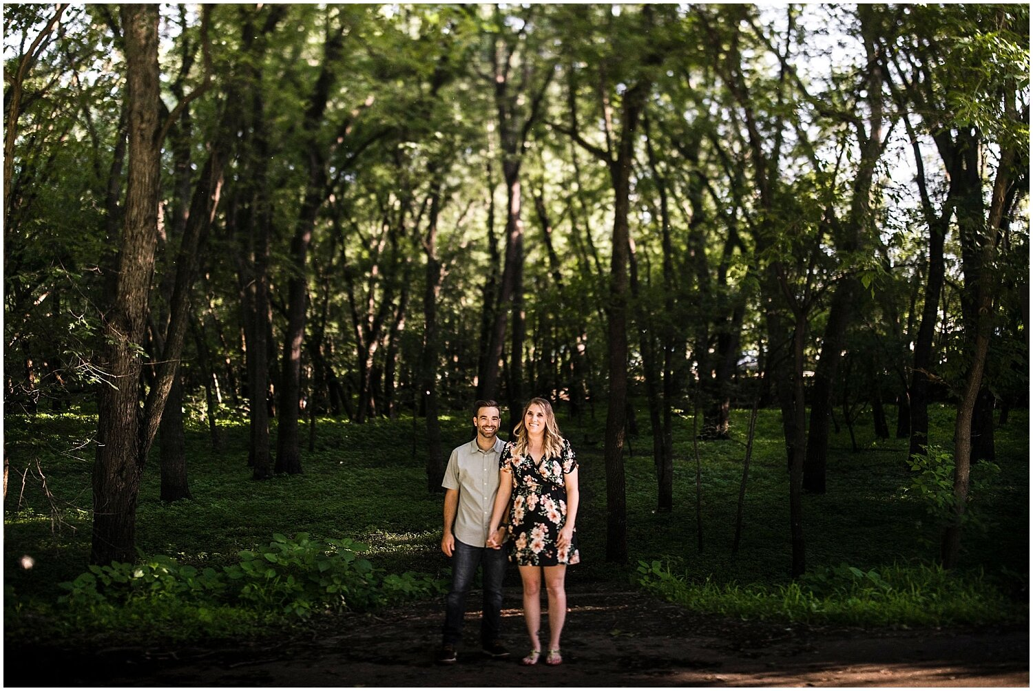 MPLS engagement photo session