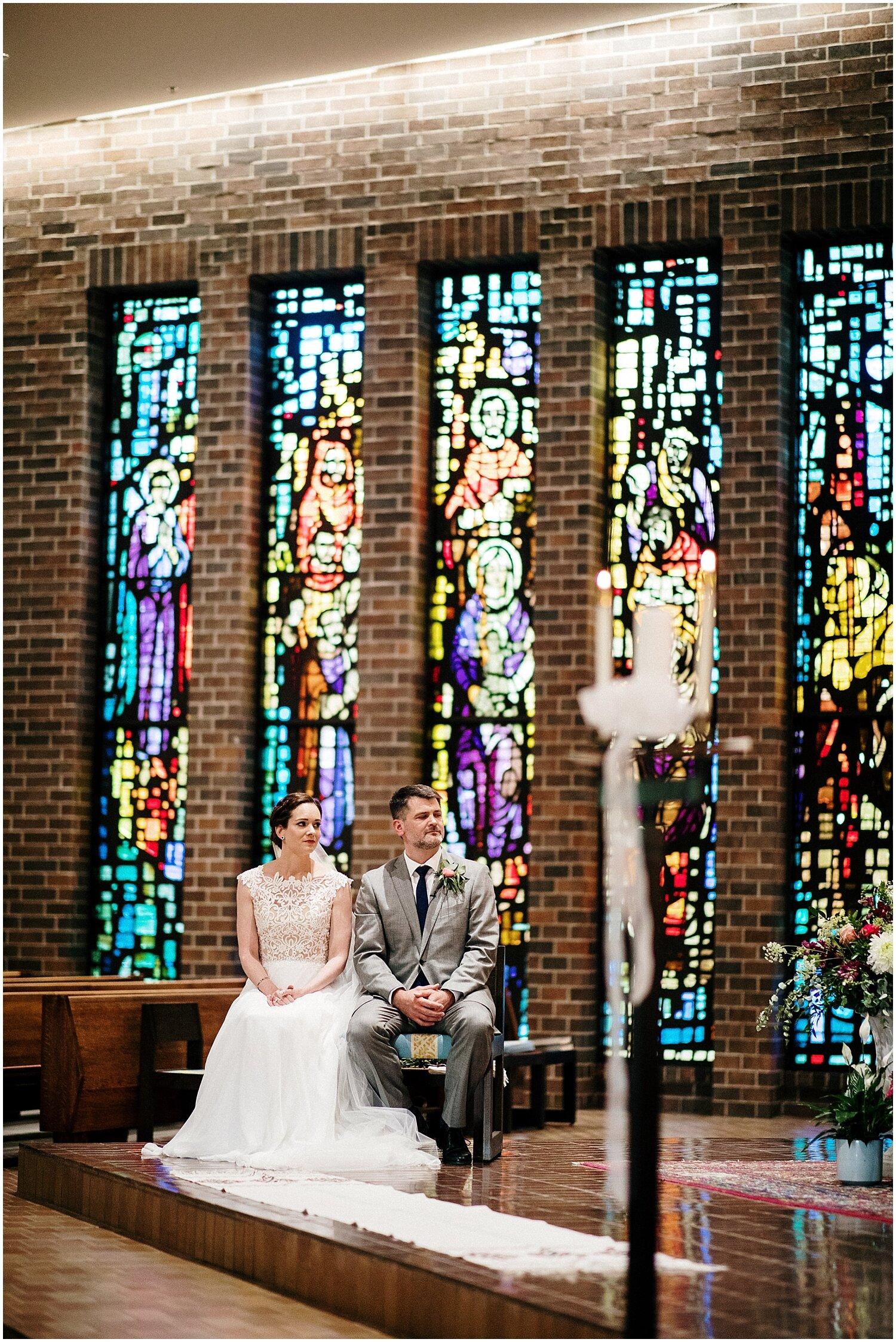 Church wedding in MN