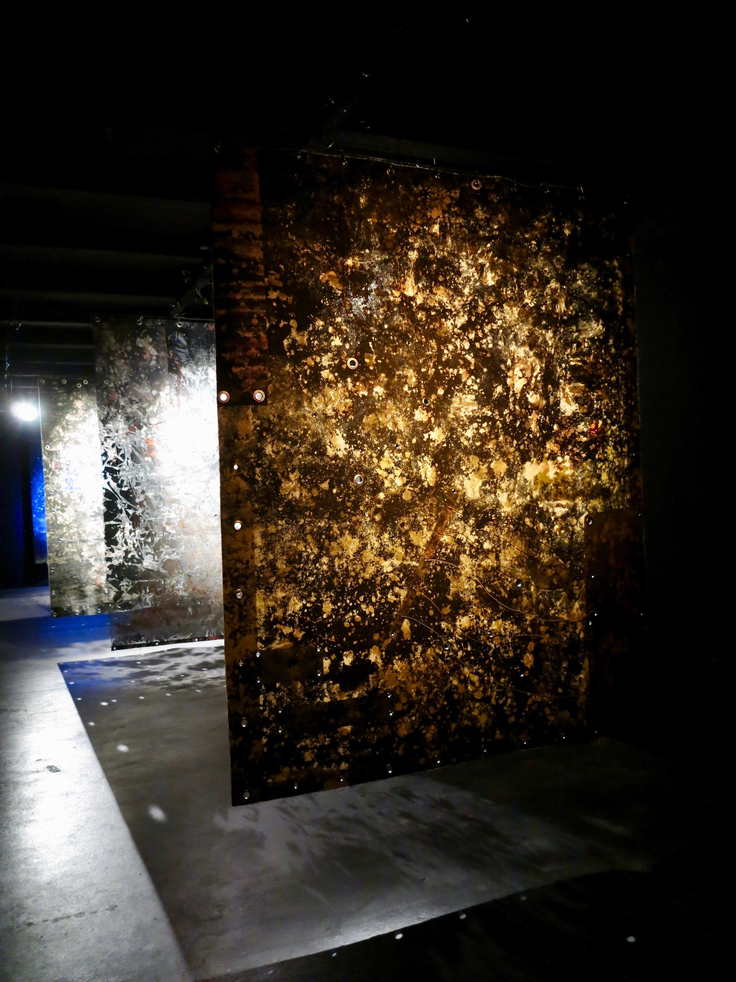 Acid Reign (solo show)  installation view @ Urban Spree.  Berlin, Germany 2019.