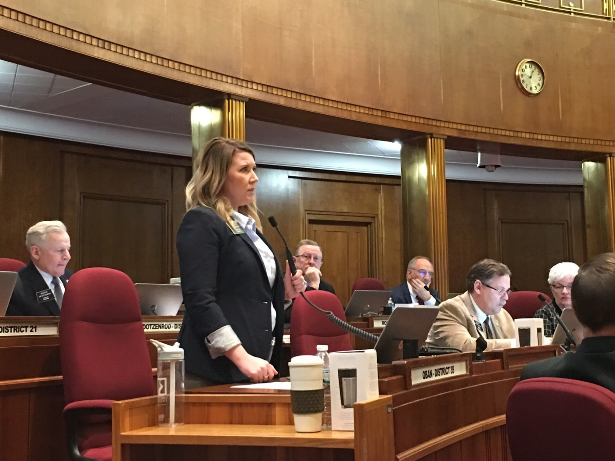 When I rise to speak in the ND Senate chamber, I'm serving as your voice on legislative issues. Every day, I hear your stories and strive to represent your interests when we shape policy.