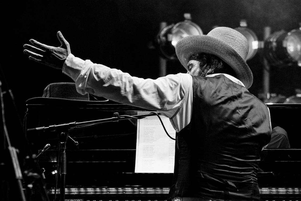 Vinicio Capossela, Lugano Estival Jazz, 2017.