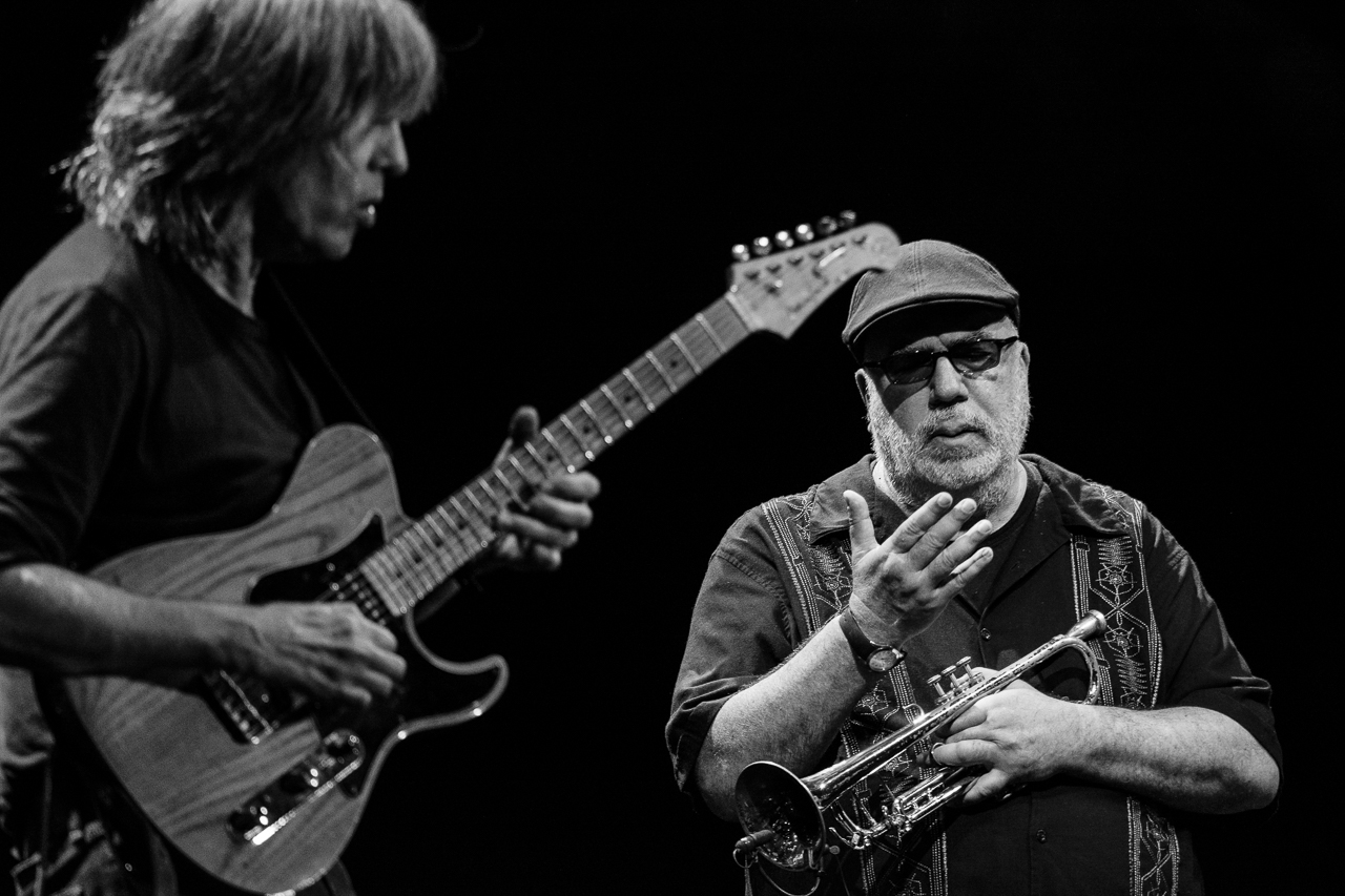 Mike Stern, Randy Brecker, Lugano Estival Jazz, 2017.