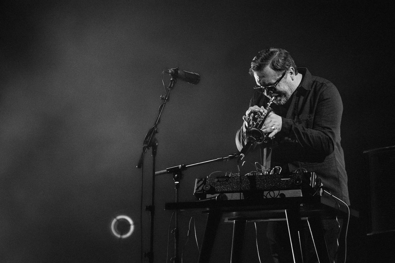 Rob Mazurek, Jazzmi, Teatro dell'Arte, Milano, 2017.
