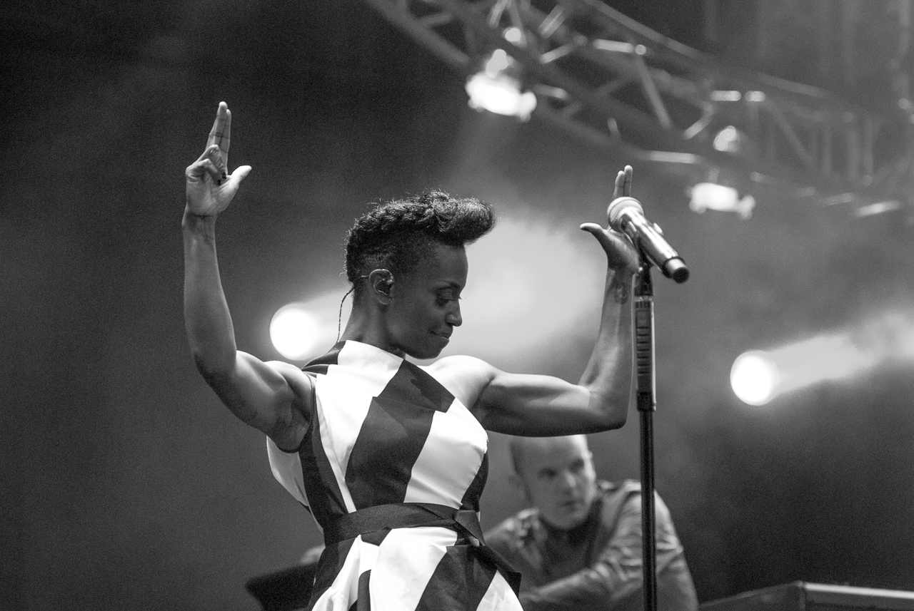Skye Edwards - Morcheeba, Lugano Estival Jazz, 2014.