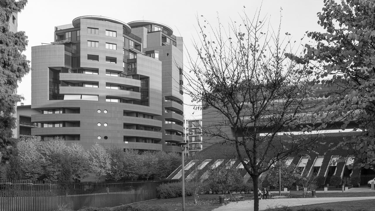 Mario Botta / Campari headquarters and residences - Sesto San Giovanni