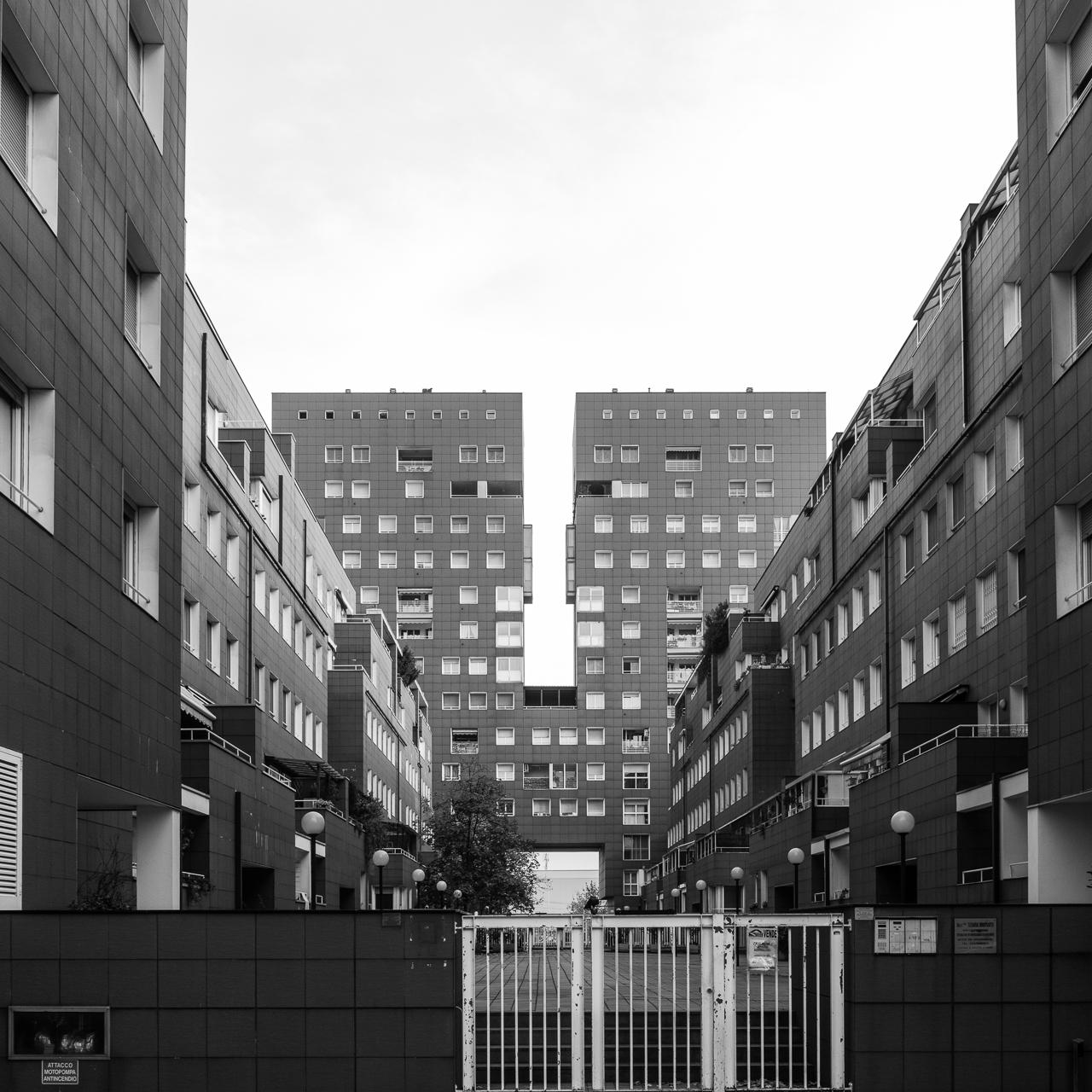 Gregotti Associati / Residenze Comparto A - Milano Bicocca