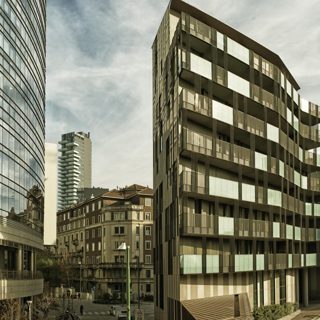 Cino Zucchi Arcitetti / residential building La Corte Verde - Milano
