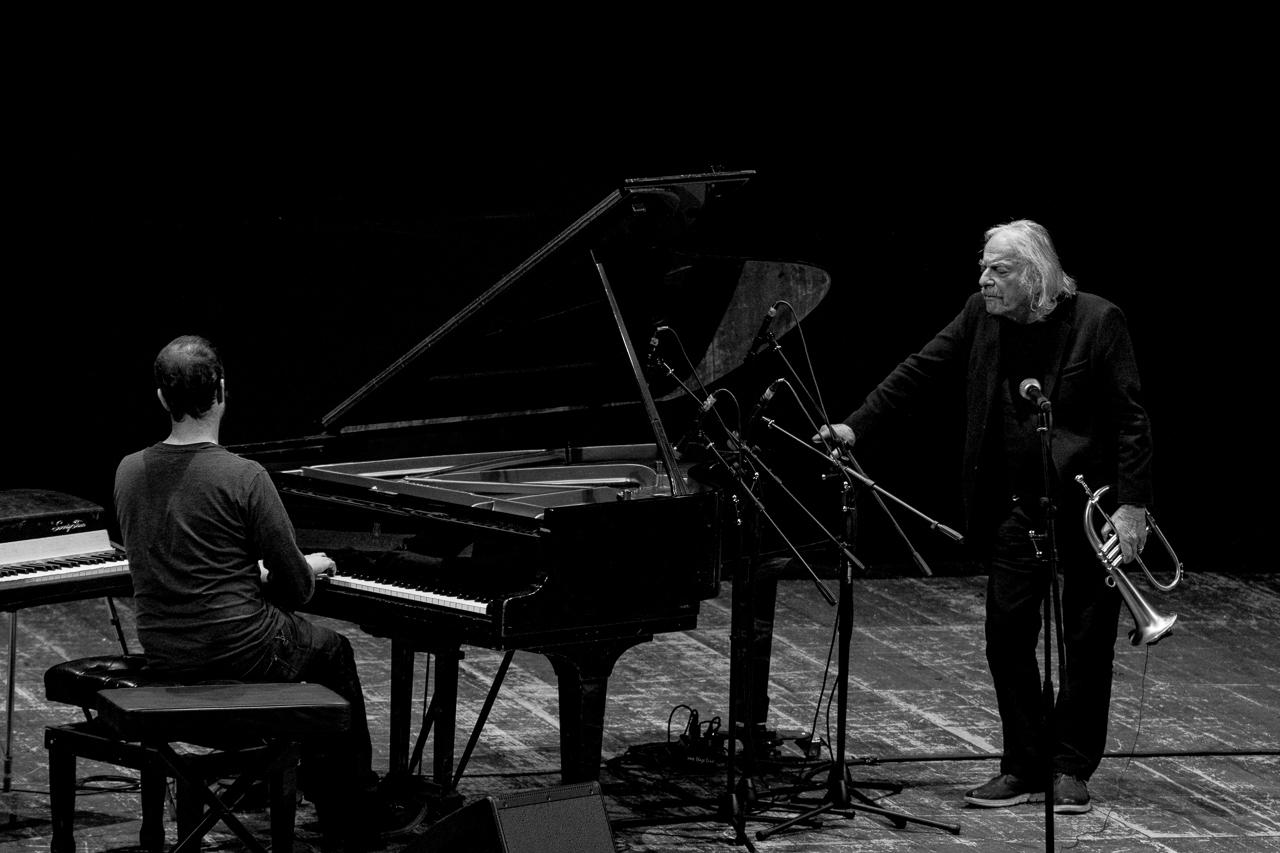Enrico Rava, Giovanni Guidi, Teatro Sociale, Como, 2018