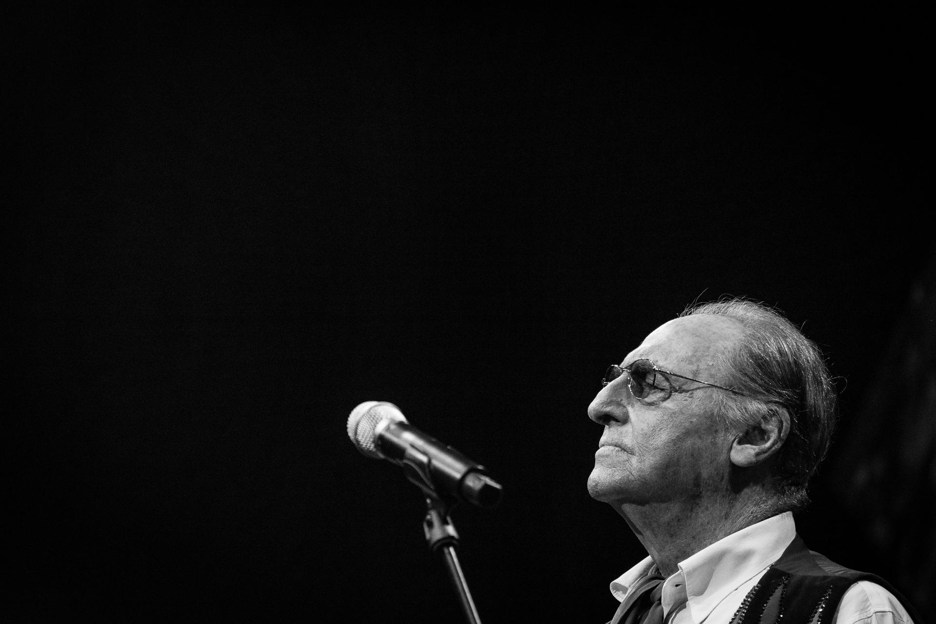 Renzo Arbore, Lugano Estival Jazz, 2018.