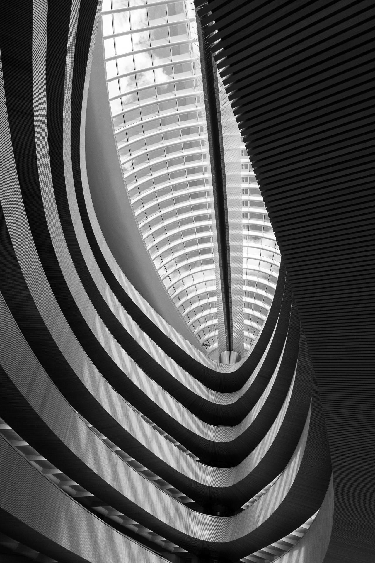 Santiago Calatrava / Bibliothek des Rechtswissenschaftlichen Instituts - Zürich