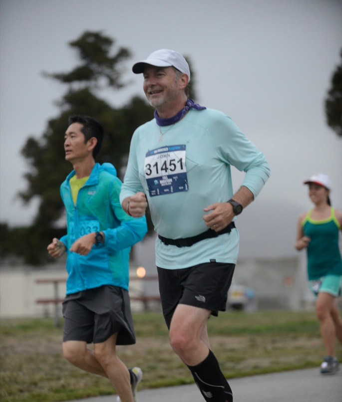 Pinnacle Running changed my belief of what is possible to accomplish at age 53.  - -John Skinner, Pinnacle Athlete