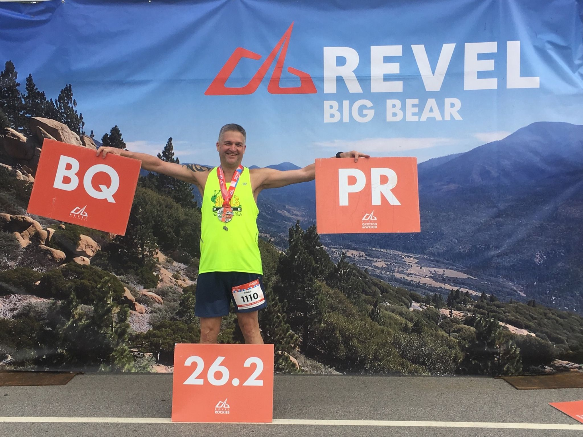 "Mike AndersonSAnta Rosa, CA - ""Less than a year after beginning my training with Pinnacle Running, I have multiple PR's including a Boston Qualifier"""