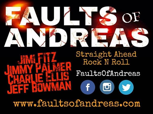Faults of Andreas enters 2018 with a ton of momentum following the band's recent Coachella Valley appearances! Follow along on social media as they erupt into the new year and please join the mailing list at the official website: www.faultsofandreas.com. Thank you! . . . #foarocks #faultsofandreas #coachellavalley #jimifitz #desertrock #rocknroll