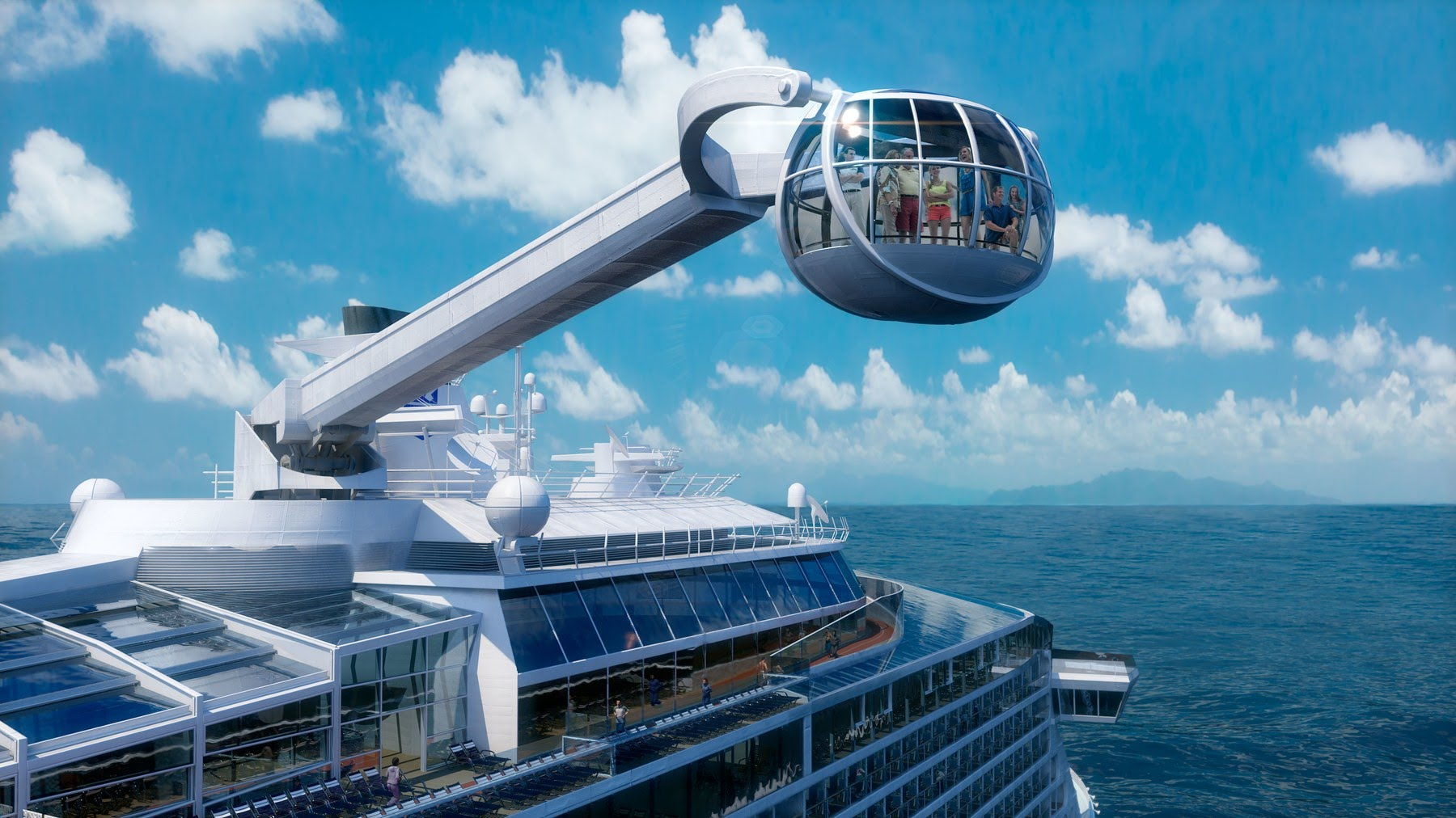 Outrageous things to do on a cruise ship