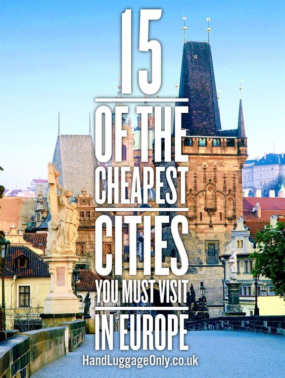 15 Cheapest Cities in Europe