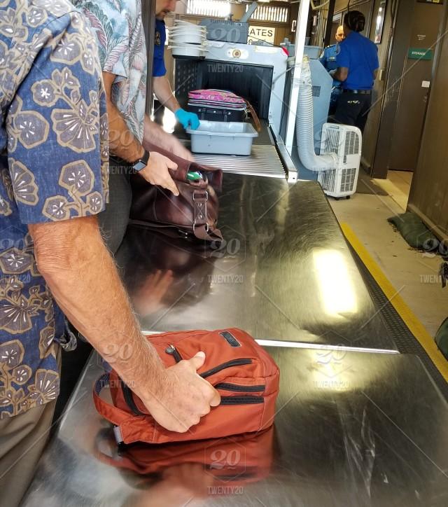 TSA Powder Check