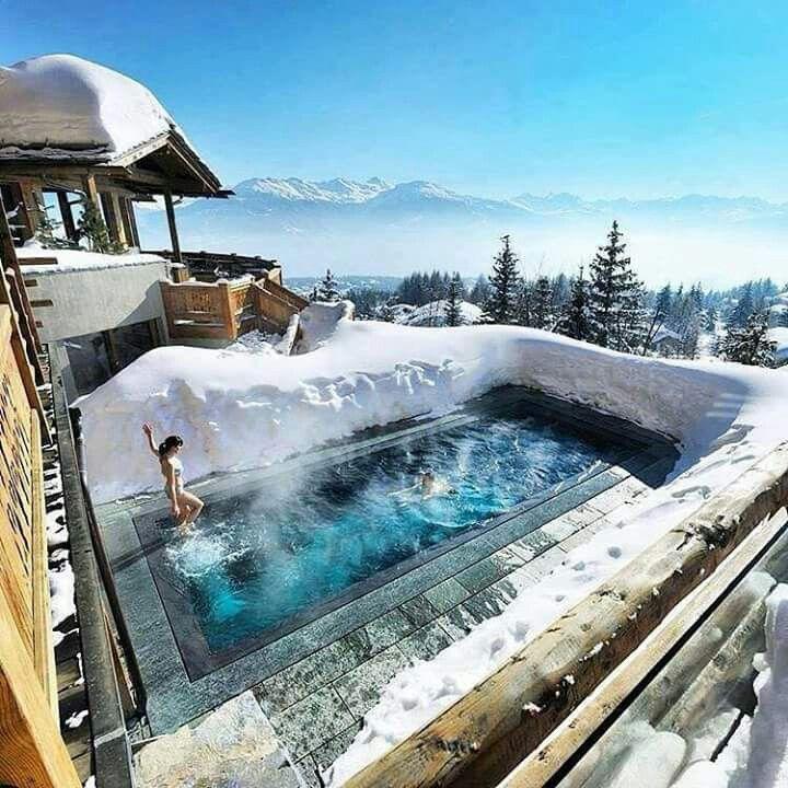 A Little Dip in Switzerland