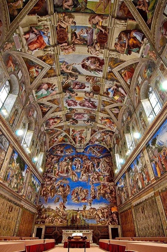 Sistine Chapel in Rome