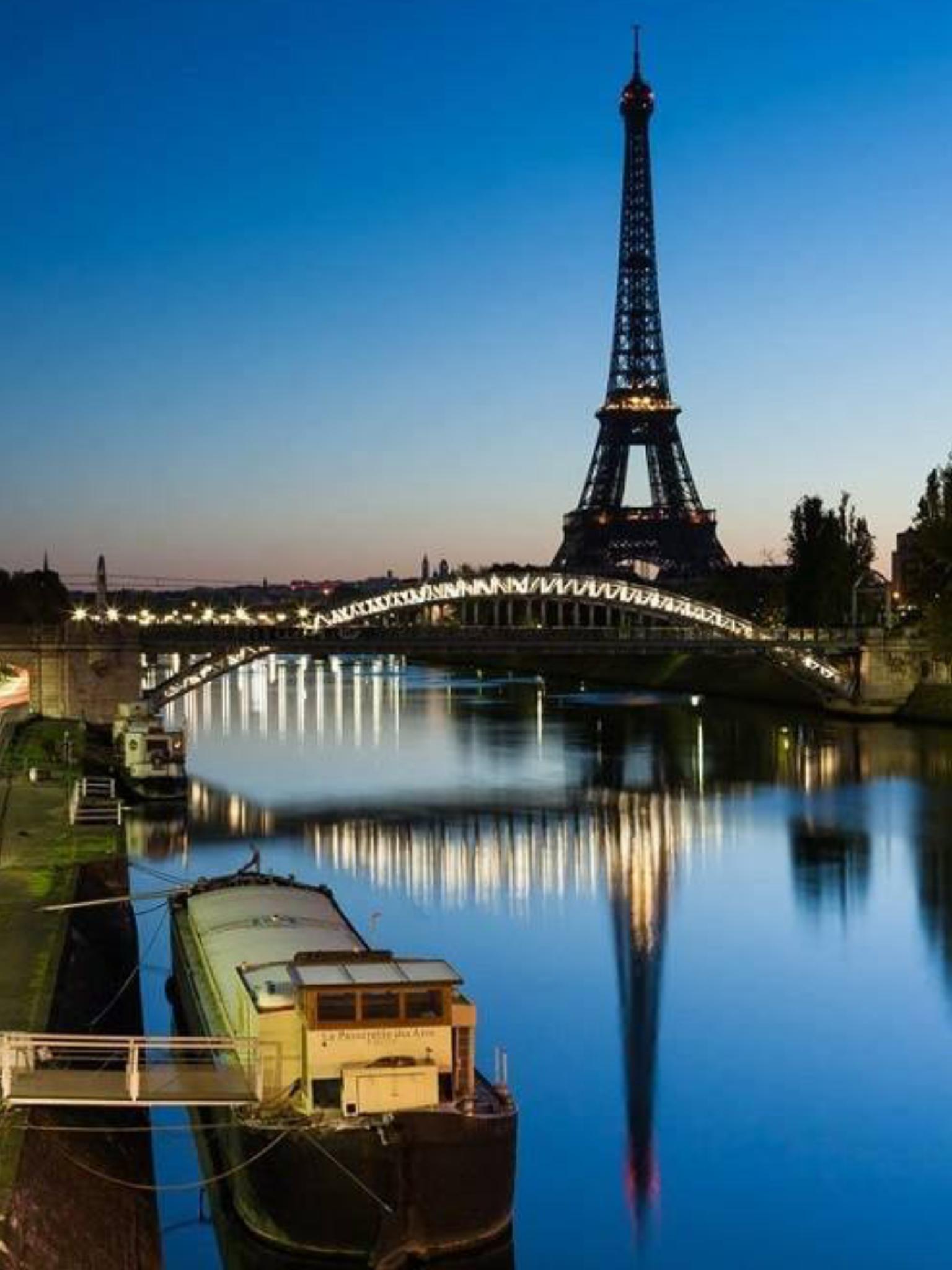 Eiffel on the Seine
