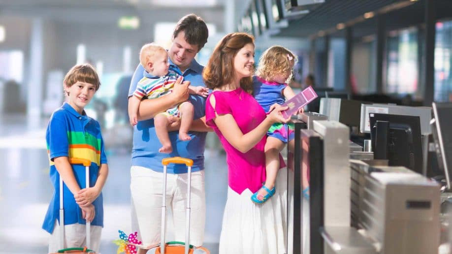 Family checking their luggage.jpg
