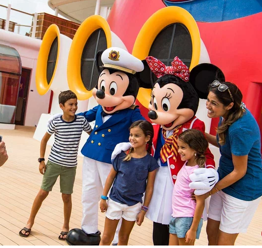 Family Friendly  - Disney Cruise Line's essence is extremely family-friendly, offering the charm of Disney characters, films and music through every step of the journey. In addition to the plentiful activities for young ones, the ships and activities offer quiet areas and escapes that are exclusive to adults.