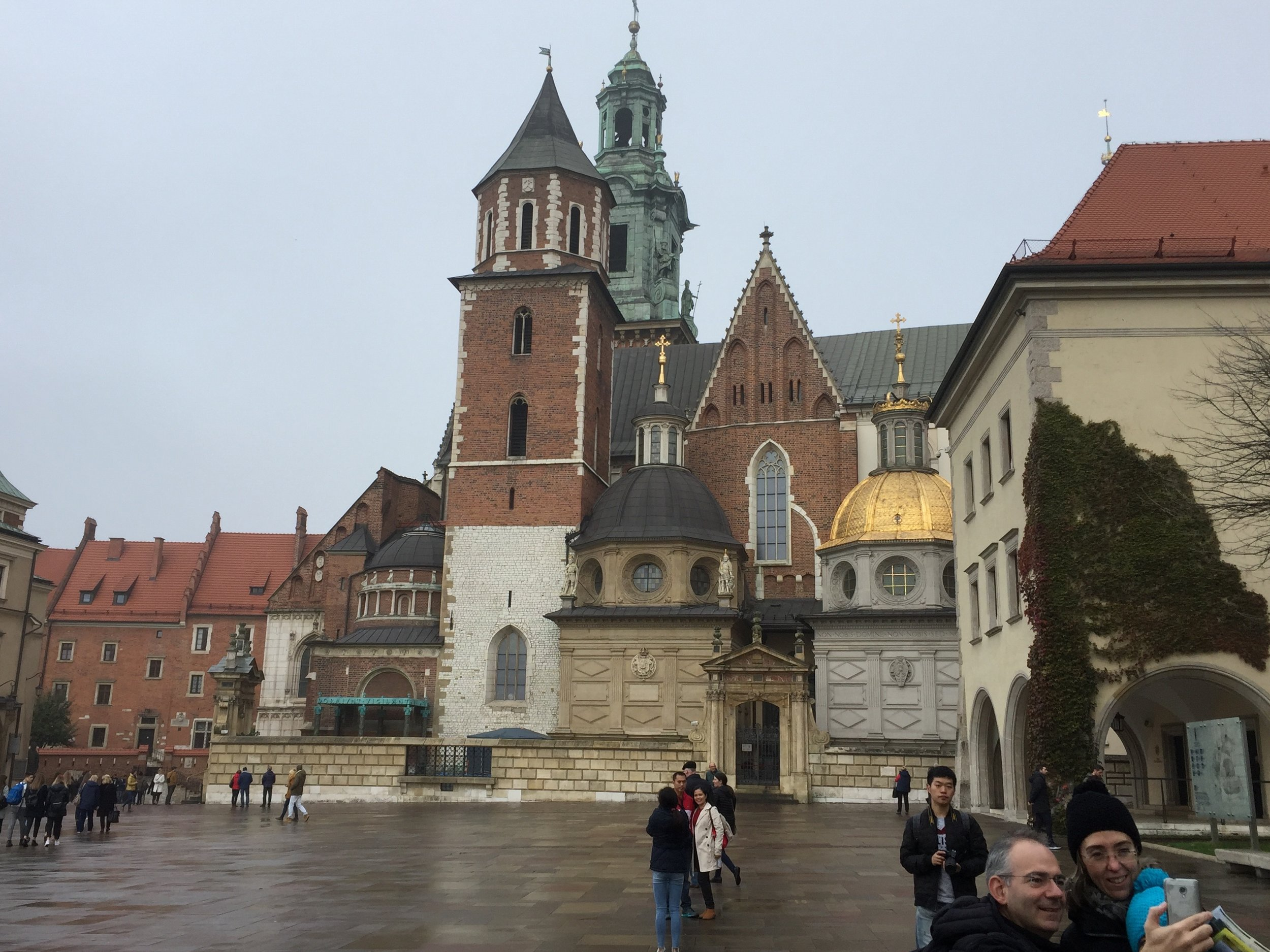 Plaza of Wawel Castle