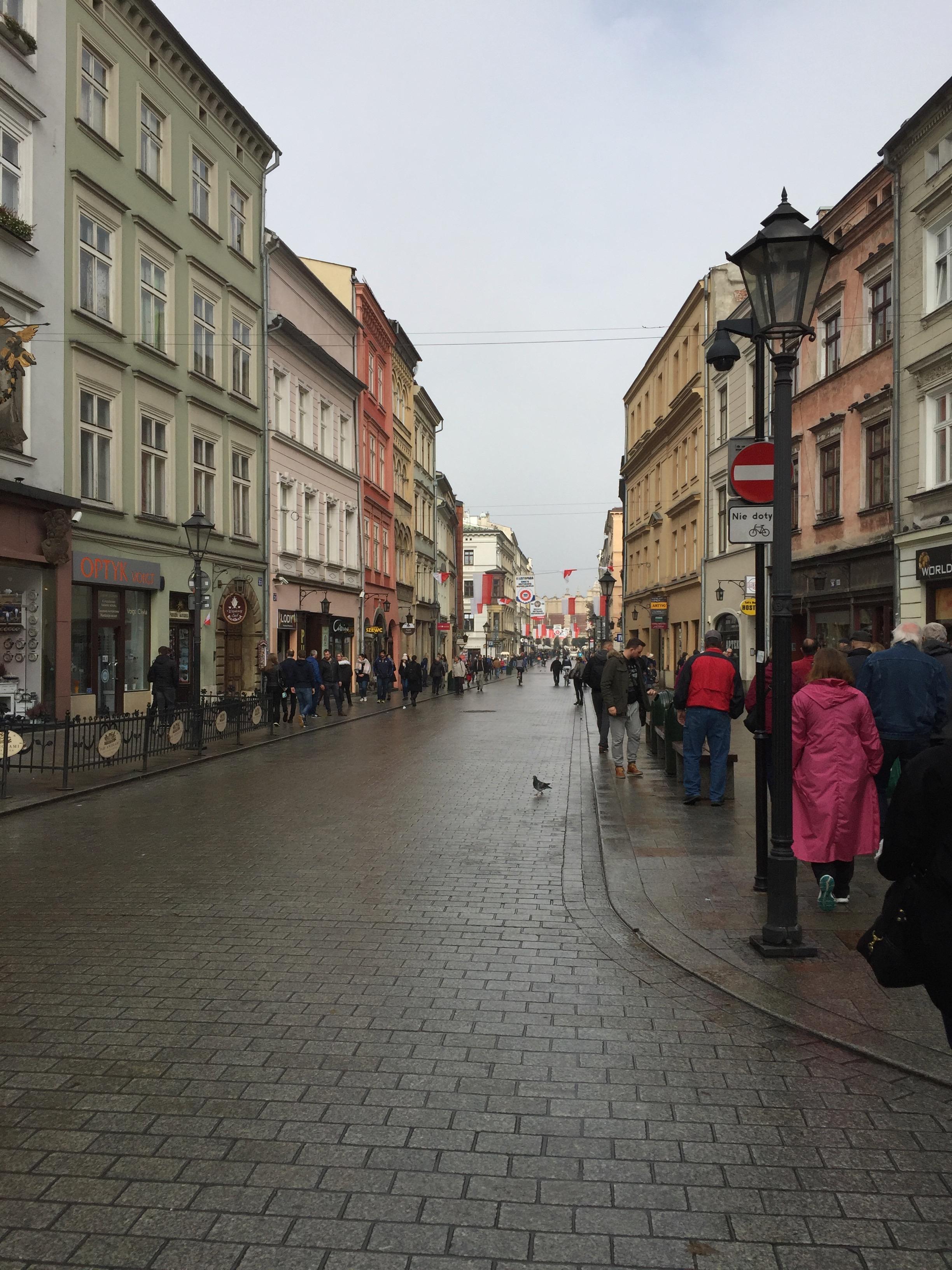 Longest Street in Krakow