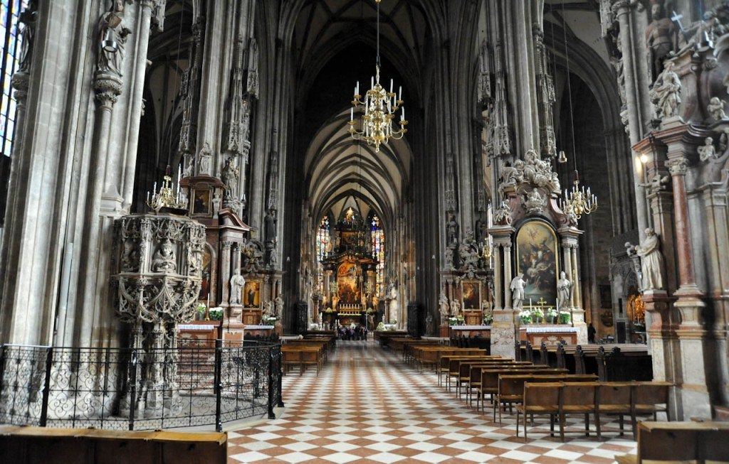 Inside St. Stephen's Cathedral