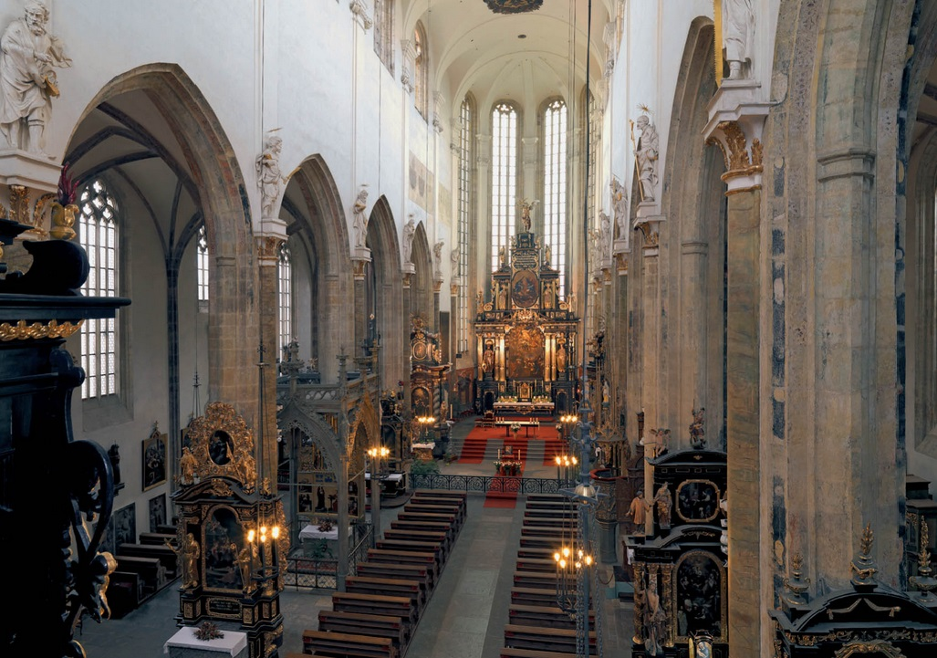 Inside Tyn Church