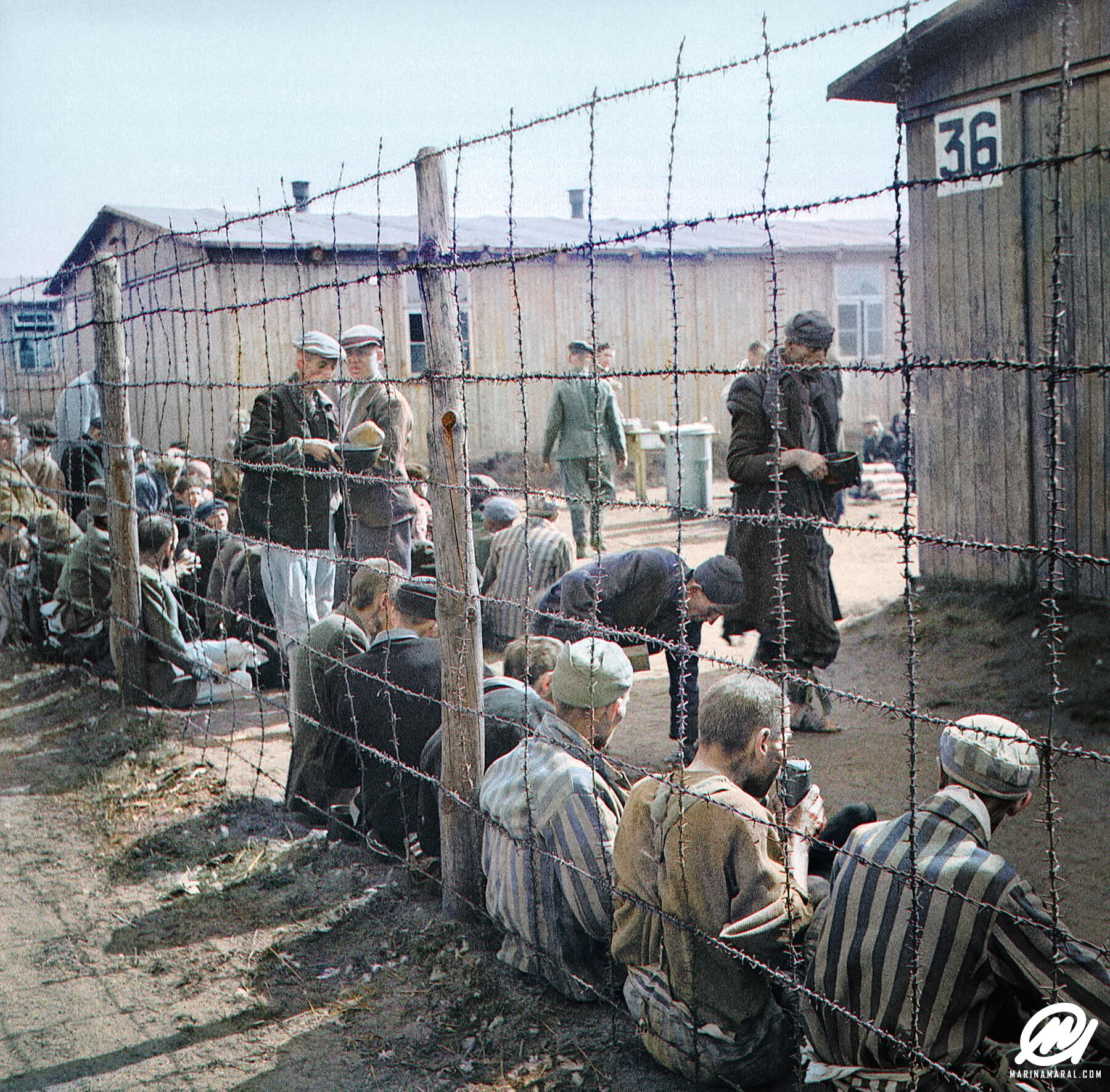 Historic Photo of Prisoners
