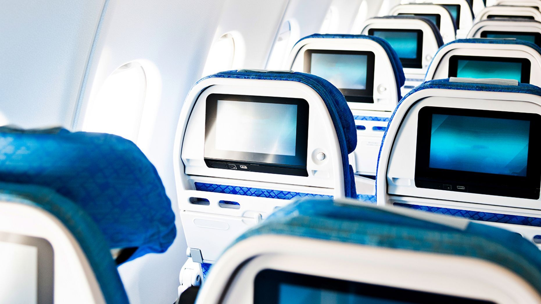 Airlines phase out of seat-back screen