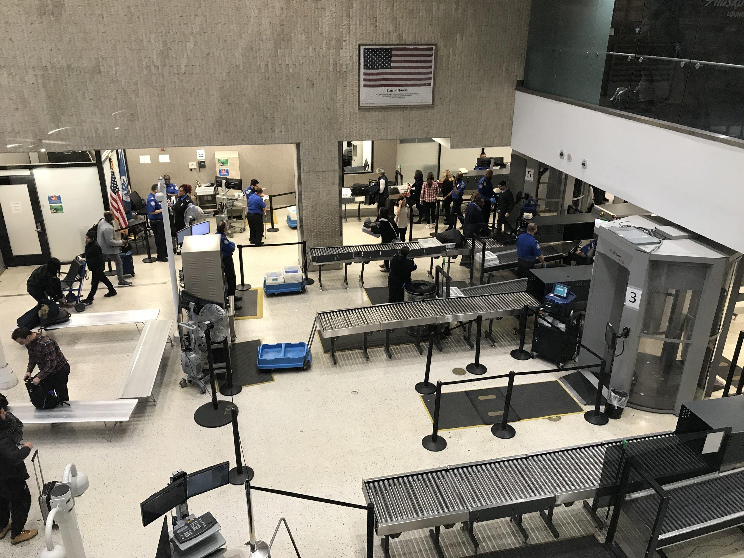 New TSA Scanners
