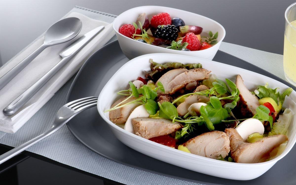Food on Delta Int'l Flights