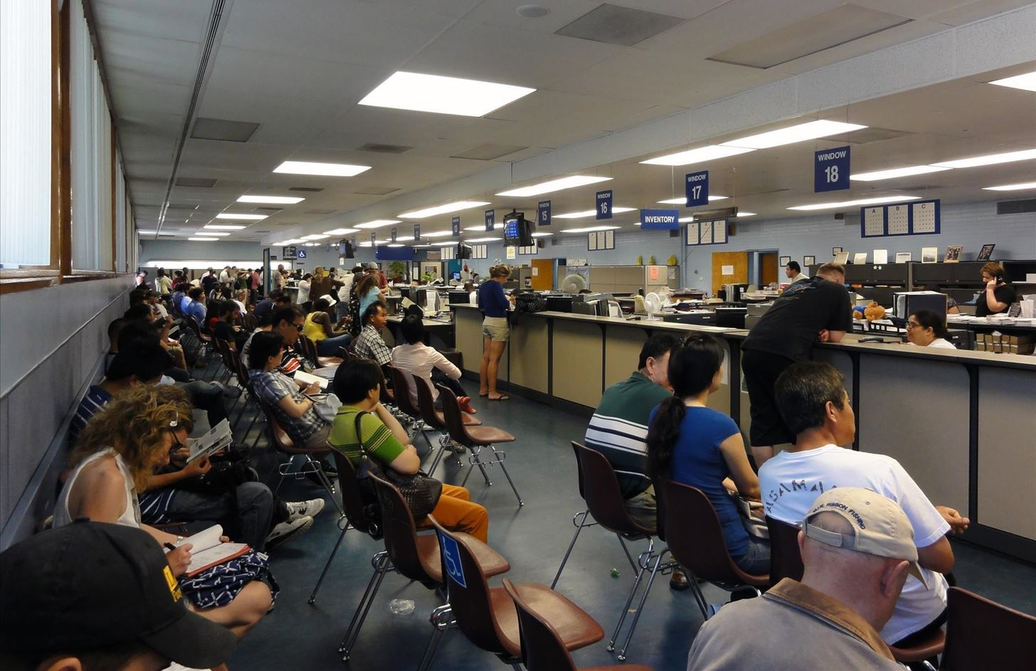 Any DMV is busy. As the Real ID deadline approaches, it will be even busier.