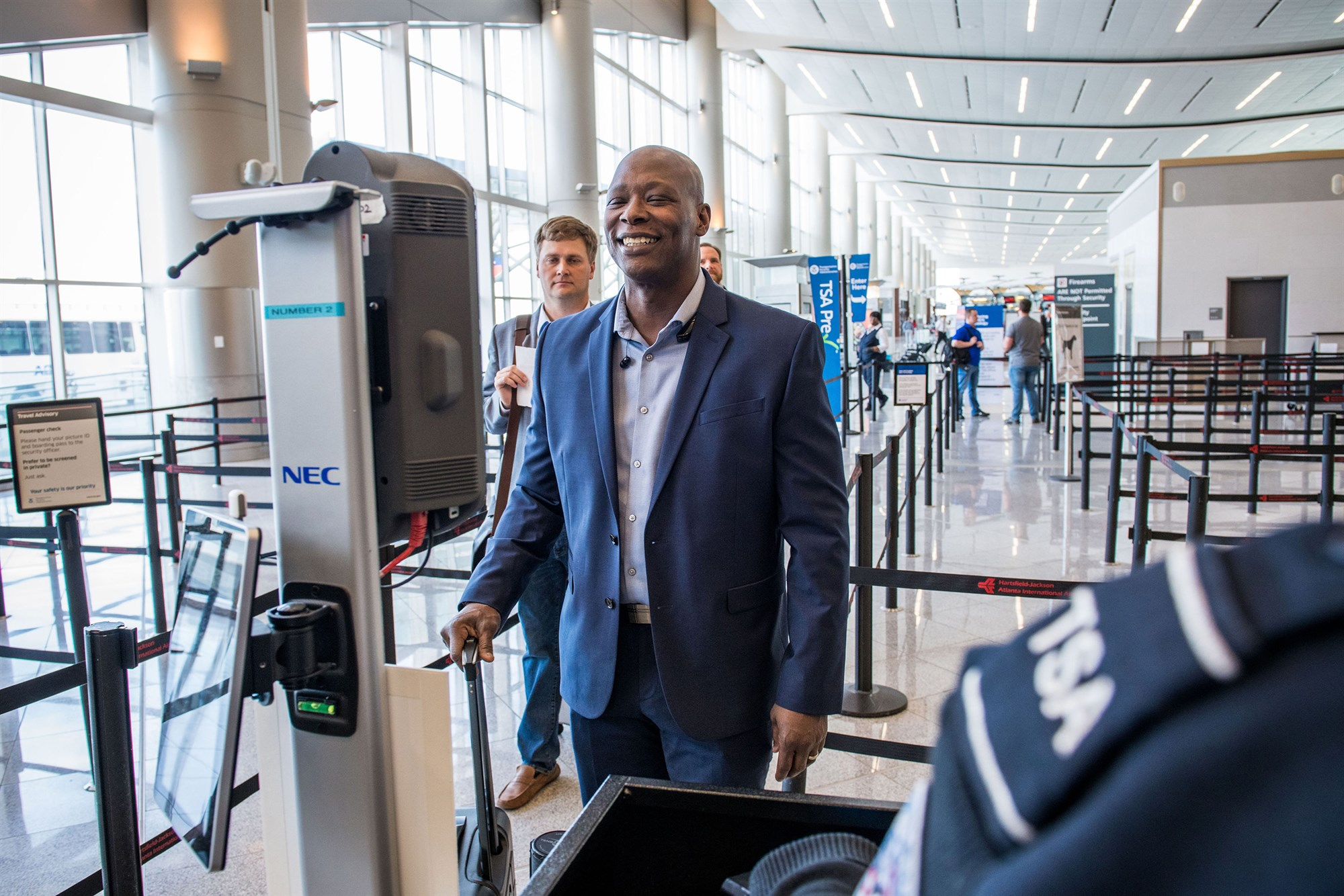 The next big avenue that is being addressed will be in airport security and the airlines to help increase the speed in which passengers are approved for travel.