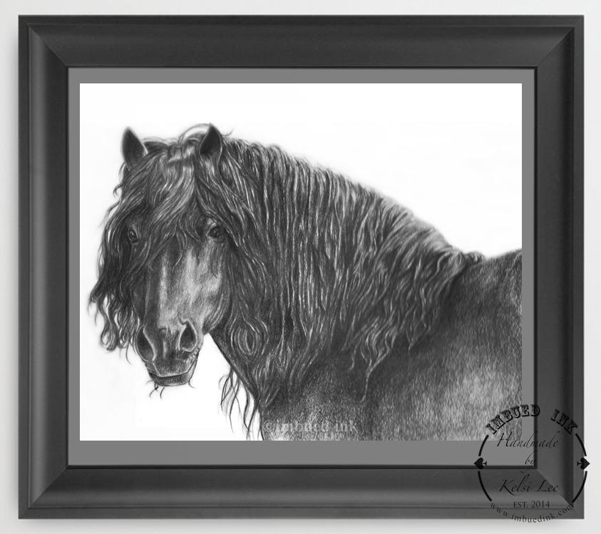 black horse framed.jpg
