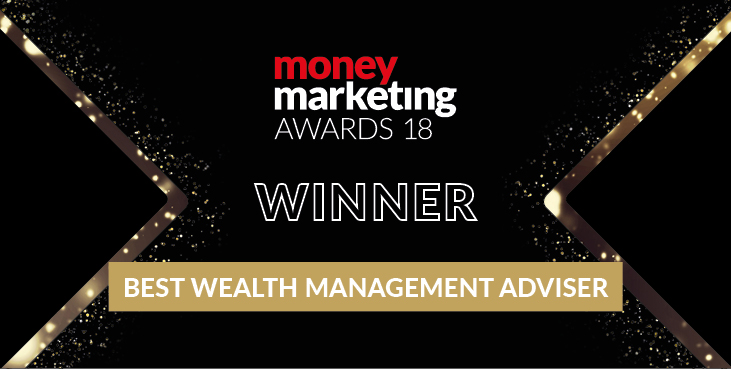 Money Marketing Awards 2018 Winner Best Wealth Manager Adviser